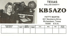 KB5AZO QSL Card